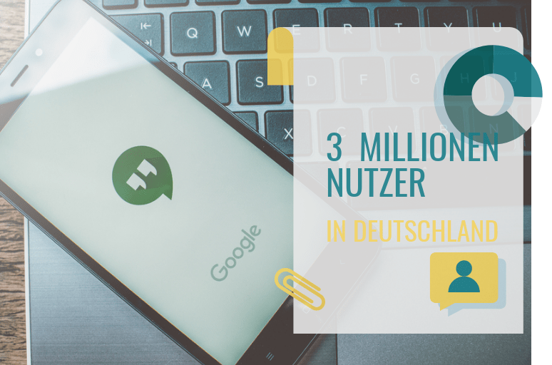 hangouts statistiken für Deutschland