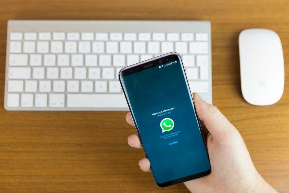 WhatsApp Kontakt löschen Samsung