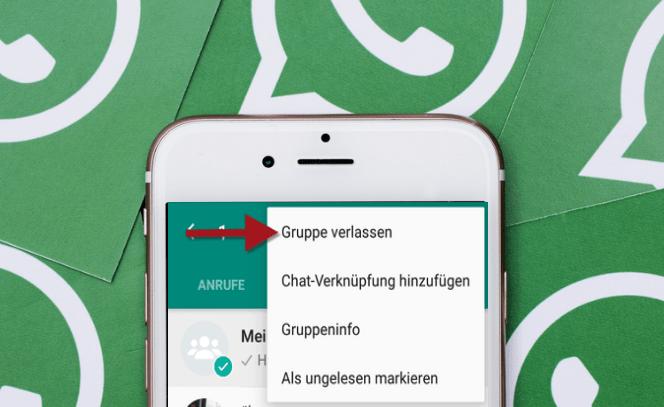 WhatsApp Gruppe blockieren
