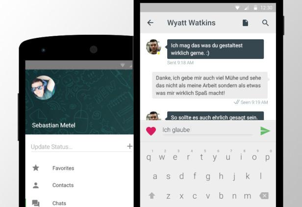 Android WhatsApp sichern