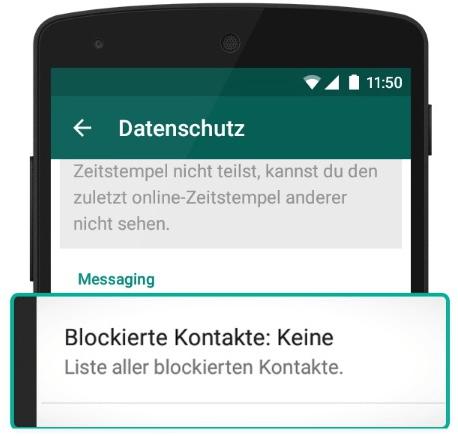 Whatsapp Kontakte Blockieren So Funktionierts Im 2019