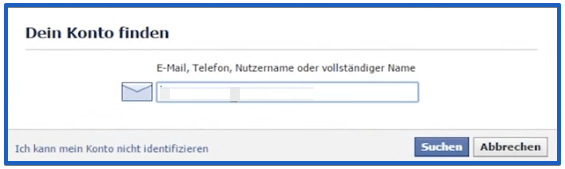 facebook password hacken schritt 2