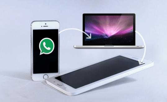 WhatsApp Chat History von iPhone auf Android durch Wiederherstellen einer Sicherung