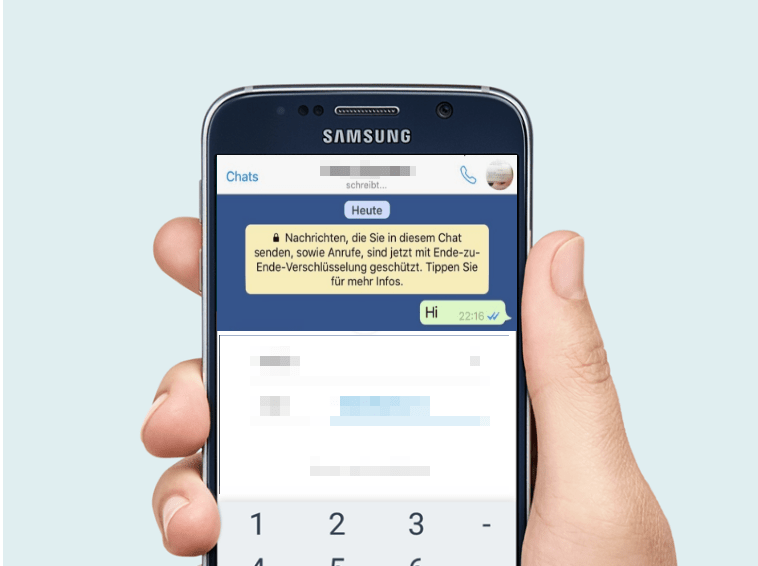 WhatsApp Sicherheitseinstellungen