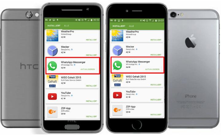 WhatsApp Aktualisierungen