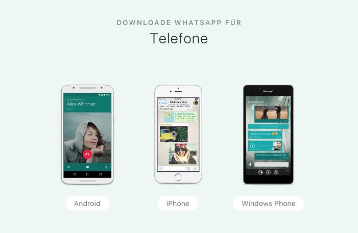 WhatsApp herunterladen