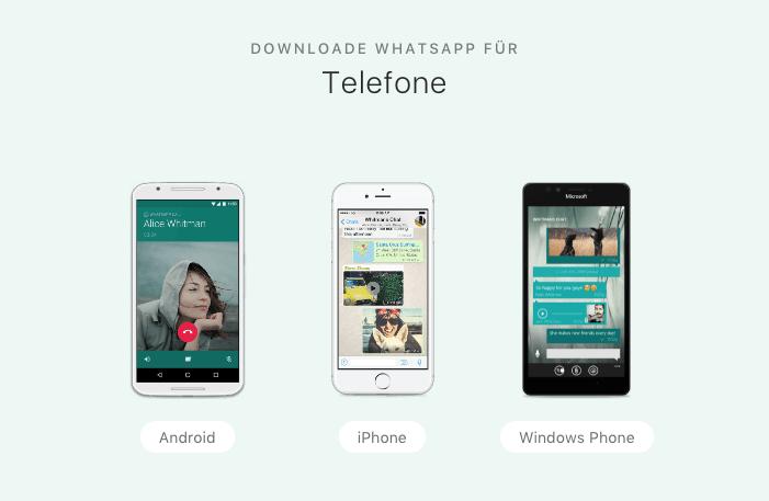 WhatsApp-herunterladen