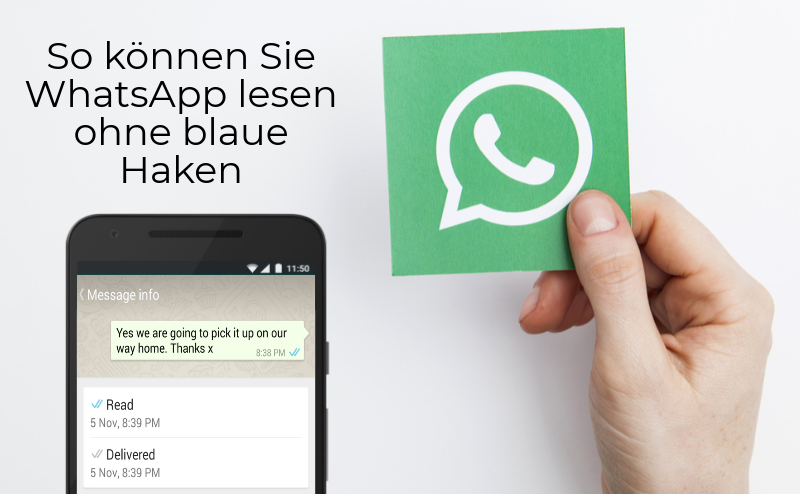 WhatsApp blaue Haken