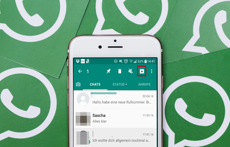 Whatsapp Chat archivieren