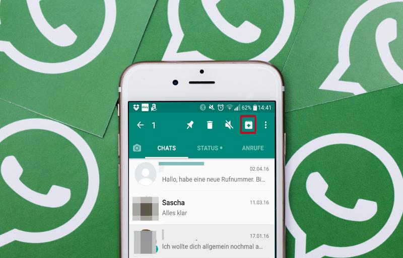 Whatsapp Chat archivieren