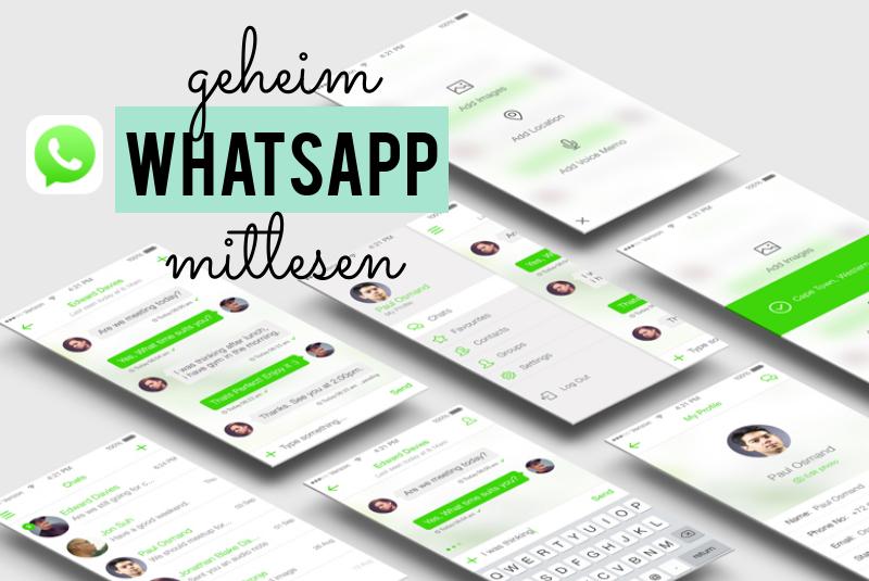 WhatsApp geheim mitlesen
