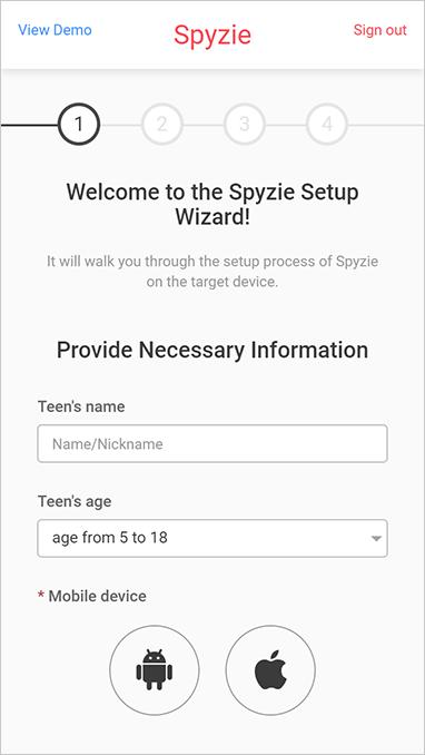 Spyzie App installieren