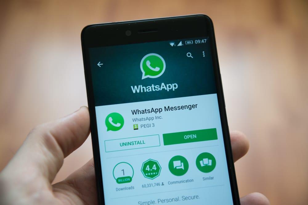 WhatsApp Shandort auf Android senden