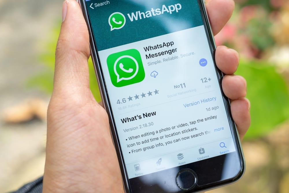 WhatsApp Standort abfragen auf iPhone