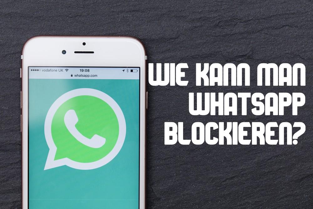 WhatsApp blockieren