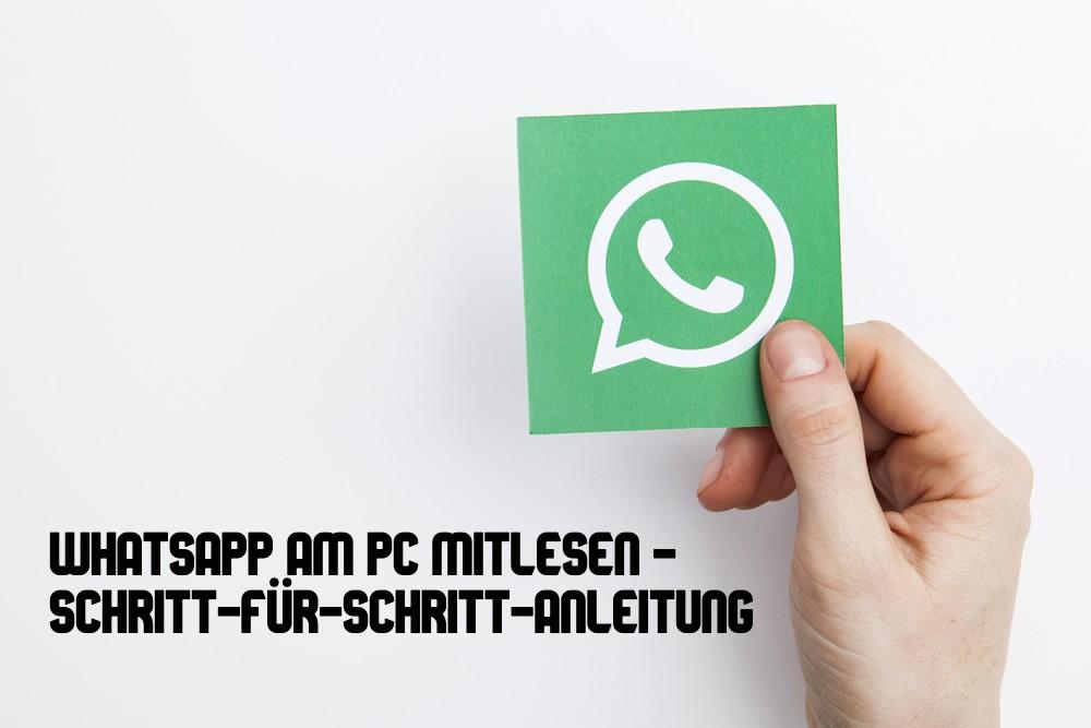 Whatsapp Am Pc Mitlesen